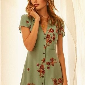 Urban Outfitters Dresses - UO Mallory Button Down Dress NWT